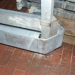 Entry Guide Rails Hot Dip Galvanized