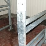 Structural Bolt-On Frame Base Hot Dip Galvanized