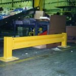 "18"" Tall Barrier Rail"