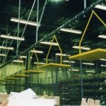 Conveyor Tote Shelf